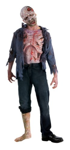 The Walking Dead TV Show Teen Deluxe Decomposed Zombie Costume