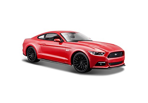 maisto-124-ford-mustang-gt-15-31508-metallic-red