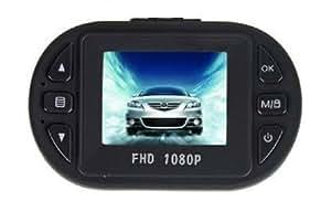 TK-SERVICE 小型フルHDドライブレコーダー エンジン連動 1080P 高画質 120度ワイドアングルレンズ 常時録画 上書き防止機能 Gセンサー搭載 12LED暗視機能 4倍デジタルズーム 動体検知 監視カメラ機能-