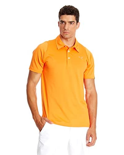 Puma Polo Golf Duo Swing Naranja