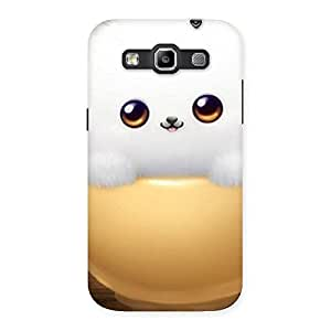 Cutest Fluffy Kitty Back Case Cover for Galaxy Grand Quattro