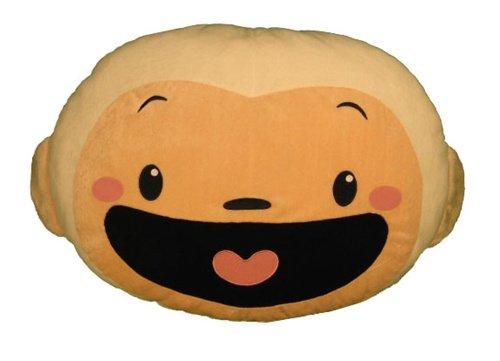 "Ni Hao Kai-lan, Hoho Face Pillow, Nickelodeon, 20"" Plush Stuffed Doll Toy"