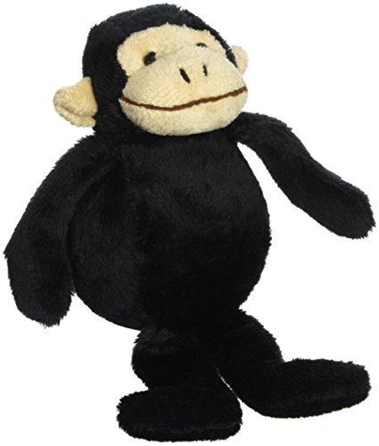 Purr-Fection Omar Bouncy Buddy Black Monkey Plush