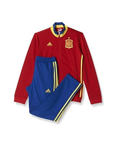 adidas Trainingsanzug FEF PES Suit Y rot/gelb/blau