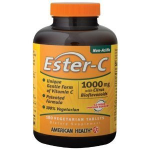 American Health Products - Ester C W/Citrus Bioflavonoids, 1000 mg, 180 veg tablets