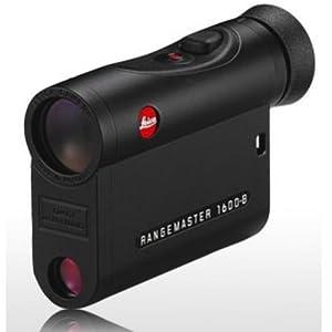 Leica Black Rangemaster 1600-B CRF With Case Rangefinder 40534 by Leica