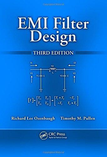 EMI Filter Design, Third Edition by Richard Lee Ozenbaugh (2011-10-27) (Emi Filter Design compare prices)