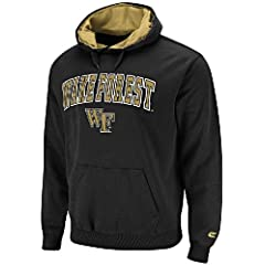 Wake Forest Demon Deacons Embroidered Automatic College Hooded Sweatshirt by... by NCAA
