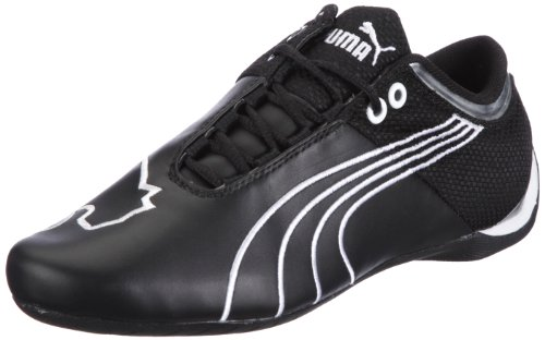 Puma Future Cat M1 Big 304038, Unisex - Erwachsene Sneaker, Schwarz (black-white-puma silver 04), EU 46 (UK 11) (US 12)