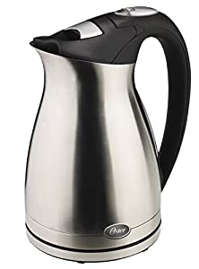 Oster 5965 1-1/2-Liter Electric Water Kettle, Stainless Steel by Oster