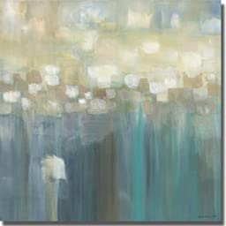 Aqua Light by Karen Lorena Parker Premium Stretched Canvas (Ready to Hang)