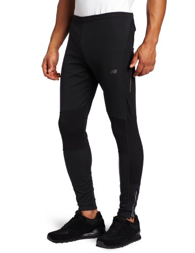 New Balance New Balance Men's NBX Windblocker Tight (Black, Medium)