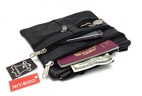 ODS: UK® Nuovo Da Donna In Vera Pelle Tote Croce Corpo Borsa a tracolla borsa borsa da viaggio