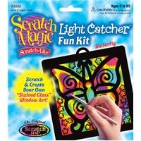 Buy Scratch Art Scratch Magic Scratch Light Butterfly Light Catcher Fun Kit