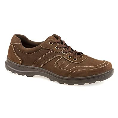 Pavers Leather Lace Up with Chunky Sole 135 720 - Brown Size 5 UK