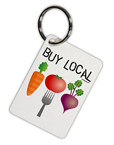 tooloud-buy-local-vegetables-design-aluminum-keyring-tag