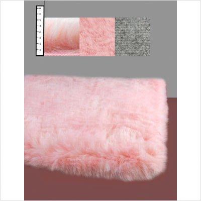 Flokati Faux Fur Rugs 2' x 4' (PINK)
