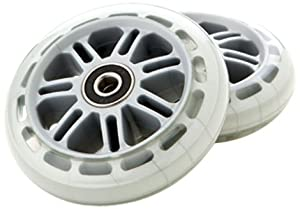 Razor Scooter Replacement Wheels Set with Bearings by Razor