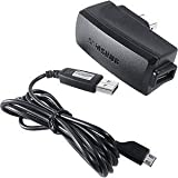 OEM Original Home Wall AC Travel Charger + USB 2.0 Data Sync Connect Transfer Charge Cable for MetroPCS Samsung Contour SCH-R250 - MetroPCS Samsung Freeform 2 SCH-R360 - MetroPCS Samsung Galaxy Indulge / Forte - Sprint Samsung Conquer 4G D600 - T-Mobile HTC Wildfire S Marvel Cricket - MetroPCS Samsung Freeform 3 R380 - MetroPCS Samsung Admire R720 - Cell Phone