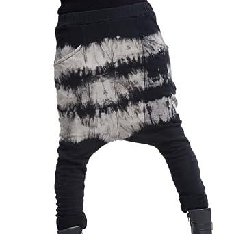 damen freizeit gym hip hop tanz sport baggy harem hose jogginghose. Black Bedroom Furniture Sets. Home Design Ideas