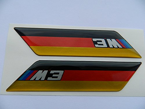 X2 SET OF BMW M3 SPORTS BADGE EMBLÈMES
