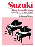 Suzuki Piano Ensemble Music: 2 Pianos, 4 Hands - Second Piano Accompaniments v. 3 & 4 (Suzuki Method Ensembles)