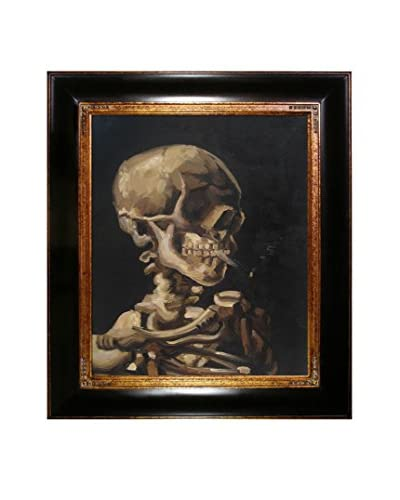 Vincent Van Gogh Skull Of A Skeleton With Burning Cigarette Hand-Painted Reproduction