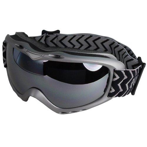 POLARLENS SERIES PG18-01 Skibrille / Snowboardbrille / Sonnenbrille mit FLASH-MIRROR-Verspiegelung + Microfaser-Tasche mit Putztuch-Funktion !