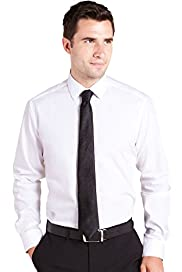 Autograph Pure Cotton Classic Collar Shirt