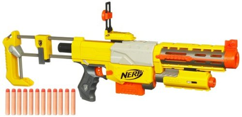 Nerf N-Strike Recon CS-6 Dart Blaster - Refill and Reload (Nerf Extra Darts And Clips compare prices)