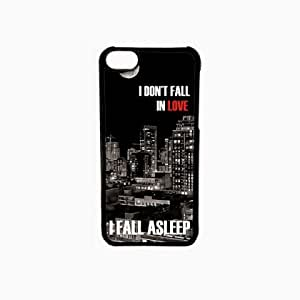 Krazycases Fall A Sleep Back Shell Cover For Apple Iphone 5C