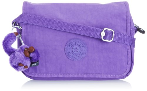 Kipling Womens Delphin N Shoulder Bag K1238961G Vivid Purple