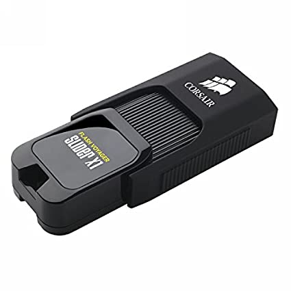 Corsair Flash Voyager Slider X1 256GB USB 3.0 Pen Drive Image
