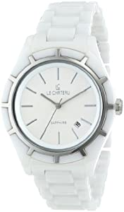 Le Chateau Women's 5869l_wht Classico Ceramic Watch