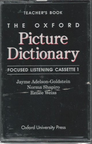 Components: Focused Listening Cassettes (2) (The Oxford Picture Dictionary Program)