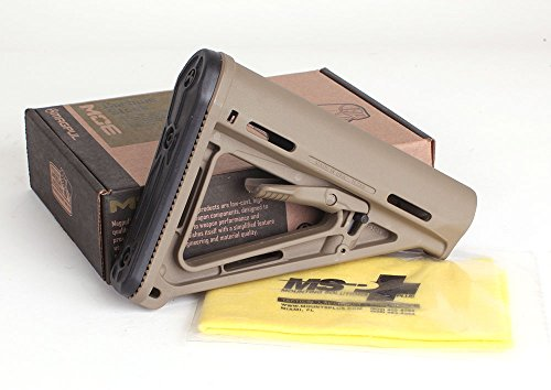 Discover Bargain Magpul 401 MOE CARB Stock – Comercial, Flat Dark Earth + Free MSP Silicone Gun & Reel Cloth