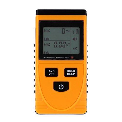 KKmoon-Digital-LCD-Elektromagnetische-Strahlung-Detektor-Meter-Dosimeter-Tester-Zhler