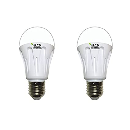 Imperial 6W-CW-E27-3558-2 Screw LED Bulb (White, Pack Of 2)
