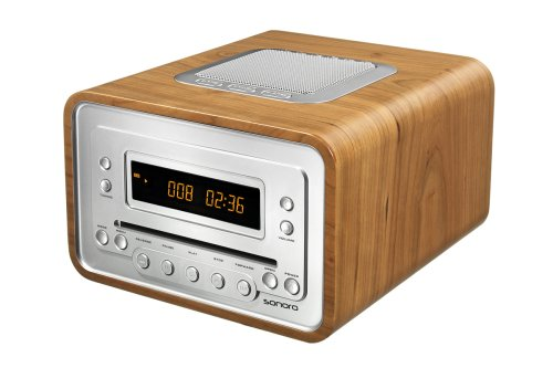 sonoro cubo design cd radio au 1300 ch mp3 cd player lcd. Black Bedroom Furniture Sets. Home Design Ideas