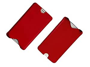 ATV Genuine Leather RED Designer pouch Case Cover For Lenovo K5 Note