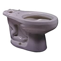 American Standard 3459.016.173 Shell Cadet Cadet Elongated Toilet Bowl Only 3459.016