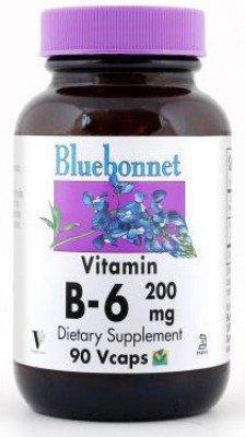 Vitamine 200mg Bluebonnet 90 Caps 6 B-
