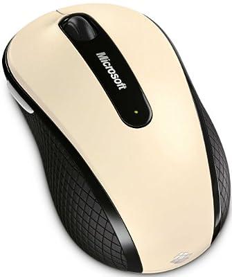マイクロソフト ワイヤレス ブルートラック マウス Wireless Mobile Mouse 4000 シャンパン ゴールド D5D-00069