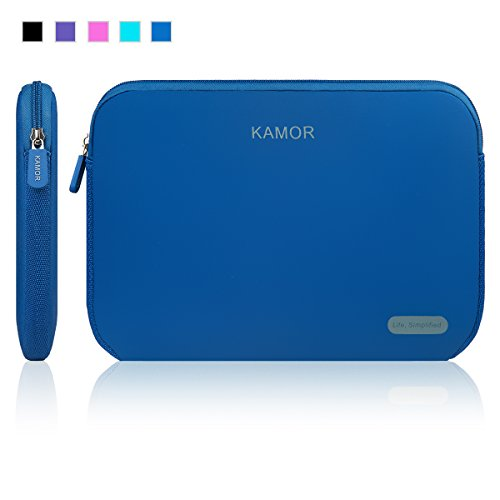 Kamor® 13 13.3 14 zoll notebooktasche laptoptasche - Water-resistant Neoprene Laptop Sleeve Case Bag/Notebook Computer Case/Briefcase Carrying Bag/Ultrabook Laptop Bag Case/Pouch Cover/Skin Cover/netbook tasche/tablet case/notebook hülle tasche/laptophülle/Hülle Sleeve Tasche / Hülle Ultrabook Laptop Tasche / Neopren hülle Sleeve / Ultrabook Hülle Ledertasche Sleeve / Hülle Sleeve Tasche / laptop schutzhülle with 5.5mm thickness für Acer/Asus/Dell/Fujitsu/Lenovo/HP/Samsung/Sony/Toshiba/Fujitsu/Medion/Microsoft, geeignet für Acer Aspire V3-371-58DJ /Acer Chromebook 13 CB5-311-T1UU / Asus C300MA 13.3-inch Chromebook / ASUS Zenbook UX303LA-DB51T/ Dell Latitude D630/ Dell Inspiron 13 7000 Series i7347-50sLV / Lenovo U330p/ HP Stream 13 Laptop/ HP Chromebook/ Samsung 540U3C 13.3-inch/ Toshiba CB35-B3330 (Dark Blue)
