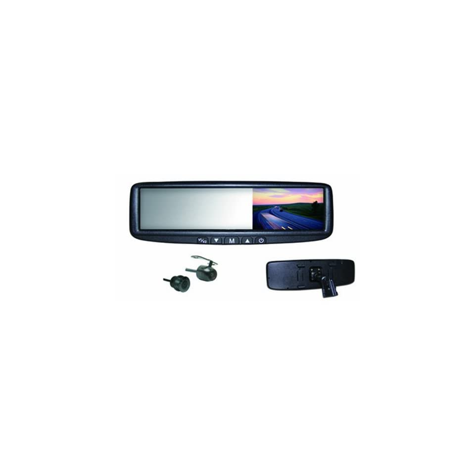 LCD Rear View Mirror Monitor and Camera Combination