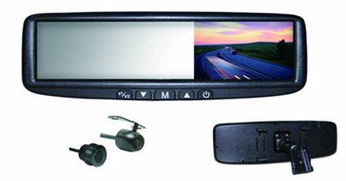 BOYO VTB44MC 4.3-Inch Digital LCD Rear View Mirror Monitor and Camera Combination