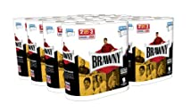 Brawny Giant Roll Paper Towel Pick-A-Size White 16 Count