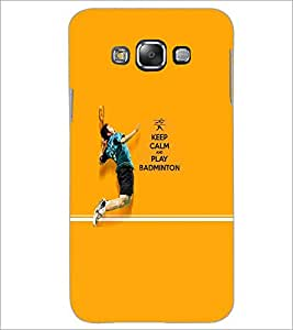 PrintDhaba Quote D-5951 Back Case Cover for SAMSUNG GALAXY E7 (Multi-Coloured)