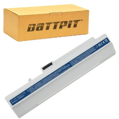 BattPit Laptop / Notebook Ersatzakku für Acer Aspire One A110L blau (4400mah / 49wh)