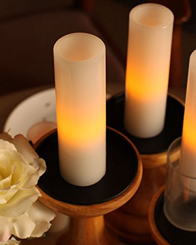 Home-Impressions-Flameless-Votive-Led-Pillar-Candles-with-Timervalentines-Dayhome-Decorations-for-Roombattery-Operated-1756-Inches-Whitepack-of-2